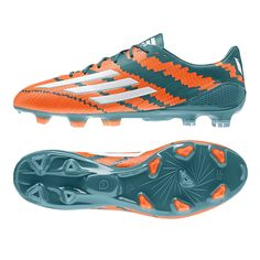 Great Looking Adidas mirosar 10.1 Messi soccer boots worn by Leo Messi for Barcelona during the 2014-15 season. Get your pair today at SoccerCorner.com  http://www.soccercorner.com/Adidas-Messi-mirosar-10-1-FG-Soccer-Cleats-B44261-p/sm-adb44261.htm