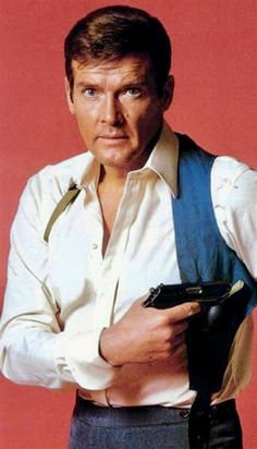 "Roger Moore as ""James Bond, 007"""