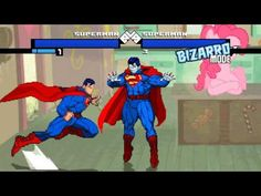 New Mugen EVE [HD] - Superman vs Superman Bizarro
