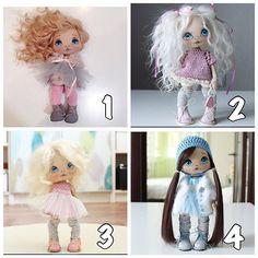 Я тут листала свою ленту и определила по вашим лайкам какие куколки нравятся больше всего, на фото подписала их места по количеству лайков  и вот что получилось;) и да, все они синеглазые #кукла #куклы #куколка #олли #ручнаяработа #авторскаякукла #авторскаяработа #doll #dolls #artdoll #textilledoll #handmade