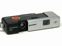 Agfa Agfamatic Kamera - Als wir noch Kinder waren.