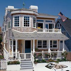 old coastal beach house / cottage. dream house for sure. Cottage Living, Coastal Cottage, Coastal Homes, Coastal Living, Beach Homes, Cottage House, Beach Cottage Style, Beach House Decor, Coastal Style