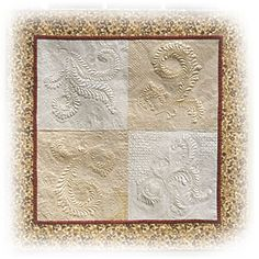 Wholecloth Sampler  The Quilter Magazine 2011  http://www.thequiltermag.com