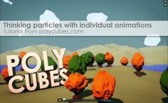Thinking particles with individual animations