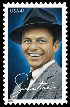 10 Frank Sinatra Postage Stamps // Rat Pack Singer Old Blue Eyes // Unused Postage Stamps for Mailin Motif Music, Franck Sinatra, Going Postal, Stamp Collecting, Postage Stamps, Movie Stars, The Best, The Voice, Just For You