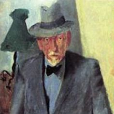 Portrait de Luigi PIrandello par Fausto Pirandello
