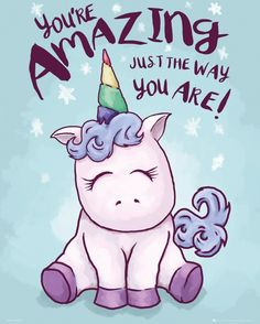 Unicorn Amazing Mini Poster
