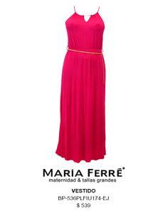 VESTIDO TALLA EXTRA, ROSA, PLUS SIZE DRESS, PINK. MARÍA FERRÉ.