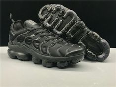 bb4c34b029e7d Nike Air Vapormax Plus Men s Running Shoes (Black) Athletic Sport Sneaker