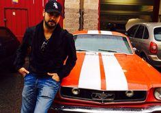 Eduardo Cruz y su Mustang del 65. Le veremos en 2 episodios de MMYY.