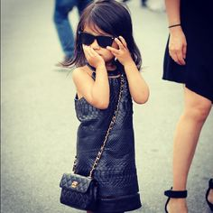 Aila Wang outside of her uncle's Alexander Wang's fashion show. #NYFW