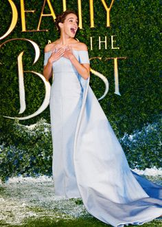 Emma Watson - Beauty and the Beast launch at Spencer House, London  Pinned by @lilyriverside