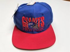 bcb73186 Vintage New York GIants Snapback Cap Hat - NEW WITH TAGS - Team NFL