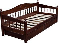 Односпальная кровать тахта F3 с ящиками.