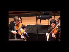 ▶ Telemann double viola concerto pour deux altos.