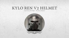 Kylo Ren v2 Helmet by Wicked Armor