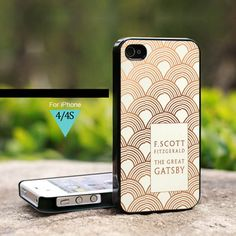 The Great Gatsby Book Cover - For iPhone 4/4s Case, Hard Cover