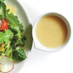 Cooking Light- calroies per TB; sweet, savory, citrus-packed punch this bright dressing adds to fresh greens, grains, or seafood. Miso Dressing, Vinaigrette Dressing, Salad Dressing Recipes, Salad Dressings, Citrus Vinaigrette, Red Miso, White Miso, Cooking Recipes, Dressings