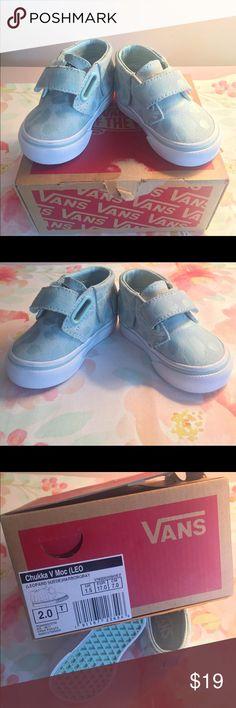 6597b9af641 Baby Vans Chukka V Moc Sneakers Size 2 New in Box Baby Vans Chukka V Moc