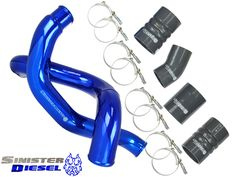Sinister Diesel Ford 6.0L Powerstroke Intercooler Charge Pipe Kit