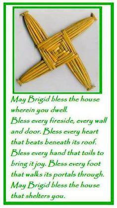 St. Brigid's day, 1st Feb.