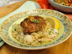 Filipino Adobo Chicken recipe from Geoffrey Zakarian via Food Network