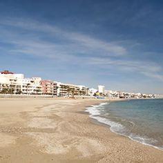 Garrucha beach on the Almeria Levante