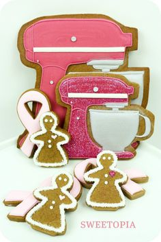 Cookies for the Cure How-to and Giveaway for two Raspberry Ice KitchenAid mixers
