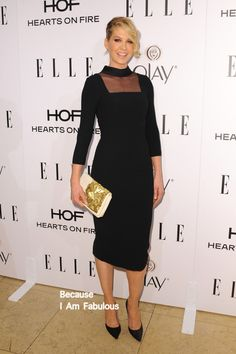 Jenna Elfman in L' Wren Scott - ELLE's Annual Women in Television Celebration