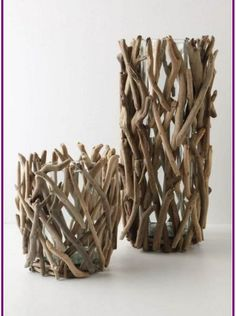 Wonderful DIY projects that you can do with driftwood - Diy Projekte - craft Twig Crafts, Beach Crafts, Nature Crafts, Summer Crafts, Cute Crafts, Arts And Crafts, Seashell Crafts, Jar Crafts, Driftwood Projects
