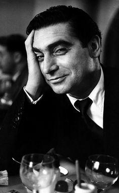 Ruth Orkin, Robert Capa in Paris, 1952