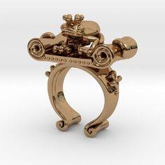 Frog King Ring.