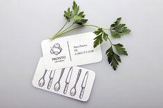 意大利PRONTO餐廳品牌形象設計   MyDesy 淘靈感