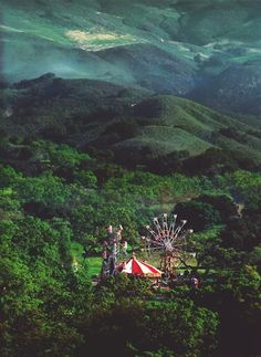 Secret forest carnival in Romania