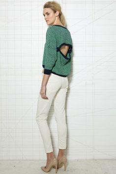 Slash back sweatshirt Urban Outfitters