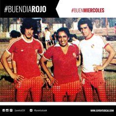 #BuenDiaRojo! #BuenMiercoles!   Barberón, el músico Jaime Torres y Pedro Magallanes. Año 1979.