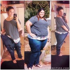 """Tag a Friend You Want to Help Motivate @getfitwjessica """"Worst mistake in my life was letting myself get to the point where I could barely do any physical activity without getting out of breath or fitting into a theme park ride or barley fitting into a size 24 jeans all before the age of 21. I know it's my fault for letting myself get like that so if people are going comment negative things just don't. I knew I had to lose weight but it didn't know how to start just like many of you say. """"I…"""