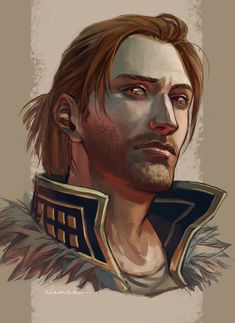 I can't lie, Anders is just such an attractive man. You know, minus being possessed by a spirit of justice