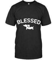 Dachshund Blessed T Shirt Dachshund, Guy, Mens Tops, T Shirt, Blessed, Supreme T Shirt, Tee Shirt, Weenie Dogs, Weiner Dogs