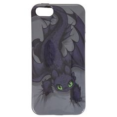 How To Train Your Dragon Toothless Crawling iPhone 5 Case Hot Topic (€8,01) ❤ liked on Polyvore featuring accessories and tech accessories
