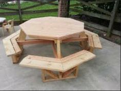 8 seater outdoor table, kids and adult size. Find me on Facebook  Orange Timber Creations for more info