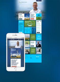Website voor windpark kramer
