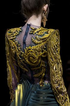Guo Pei at Couture Spring 2017 (Details)