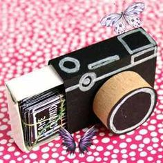 DIY Crafts Turn a matchbox into a cute little camera and fill it with picture prompts. Perfect handmade gift for a friend who loves photography.<br> It all started after falling down an Etsy rabbit hole, where I discovered an assortment of beaded Indian appliqués . They were stunning and surprising…