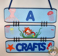 My Crafting Channel: A Gift For Lisa From A Mermaids Crafts