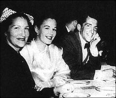 Angela Crocetti ( Dean's mom ) ,Betty ( Dean's first wife ) and Dean Martin