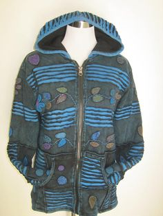 PIXIE HOODED  Awesome Warm Fleeced Lined Jacket