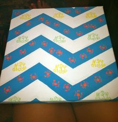 Cute craft idea for house decoration! #monograms