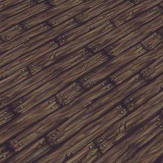 medieval wood floor | Hand Painted Textures