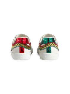 new product 38579 7f1b8 Gucci エース アップリケ スニーカー. krm · shoes